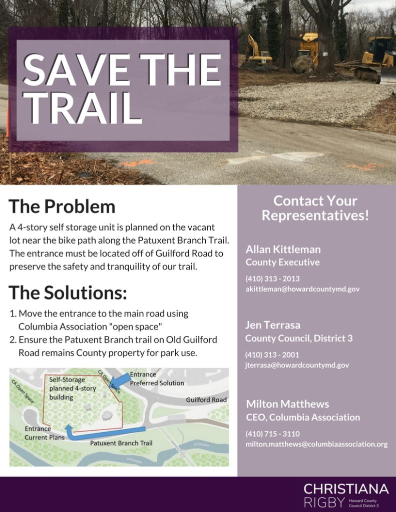 sve the trail flyer